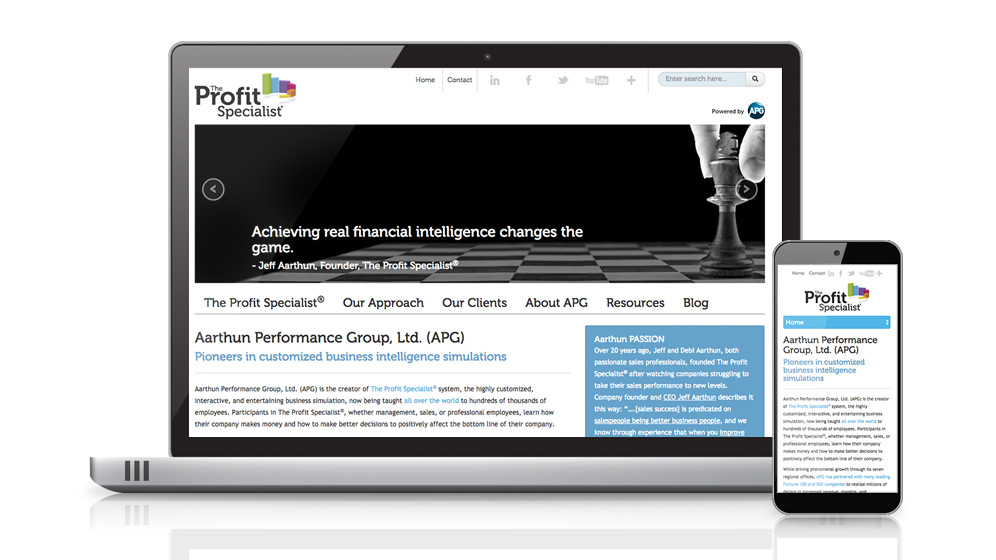Through marketing consulting, branding, website development and inbound marketing, HexaGroup helped Aarthun Performance Group land major new clients.