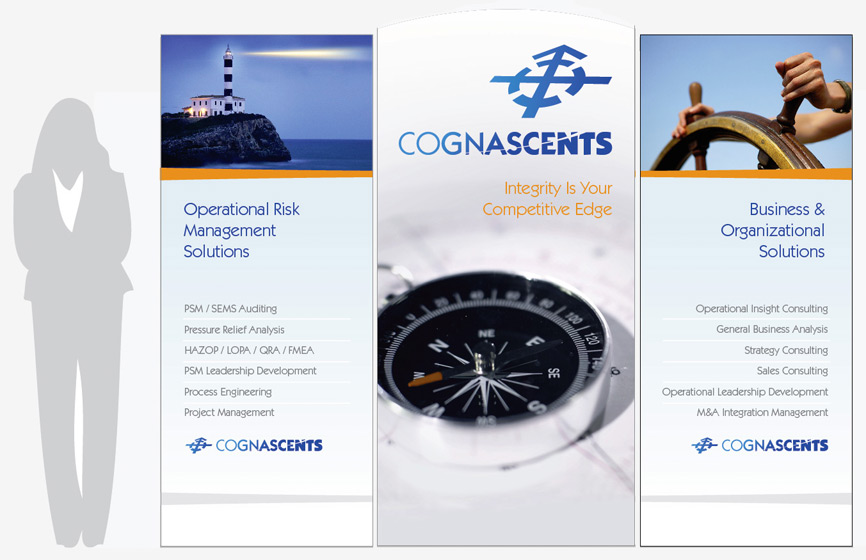 Cognascents is a Houston-based consulting company that specializes in operational risk management, business excellence, organizational integrity and training solutions. Seeking expertise with branding and a web presence, Cognascents selected HexaGroup for the project.
