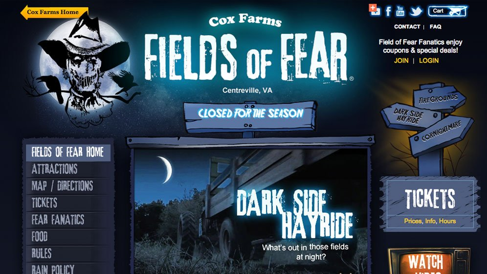 Through website development, HexaGroup helped Cox Farms accommodate mobile users and rely on its new website for ticket sales and communications.