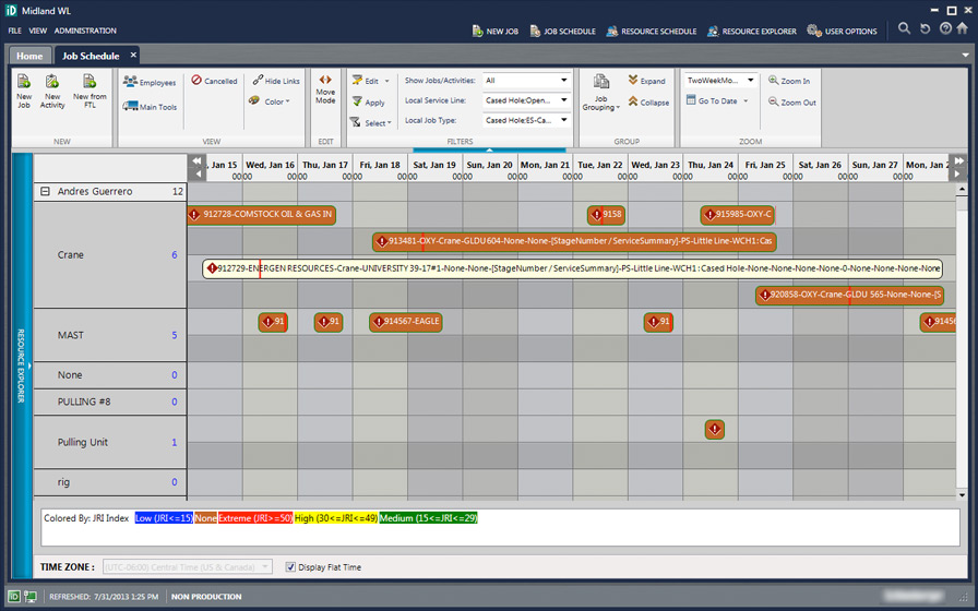iDistrict is a job and resource planning business system for allocating teams, resources, tools, people and technology around the world. As part of a long-term relationship with this large oilfield services client, HexaGroup was tasked to assist with the development of the new iDistrict user interface, creating over 100 screen applications, conducting user testing to ensure the interface was user-friendly, performed entire presentation layer implementation and implemented the new user interface. HexaGroup integrated with the client team and worked together for 8-12 months to successfully implement the new application.