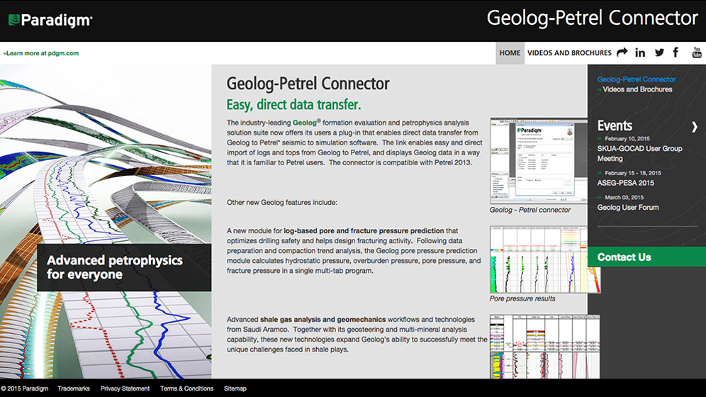 A new website and inbound marketing by HexaGroup helped generate brand awareness and leads for the largest seismic software developer in oil and gas.