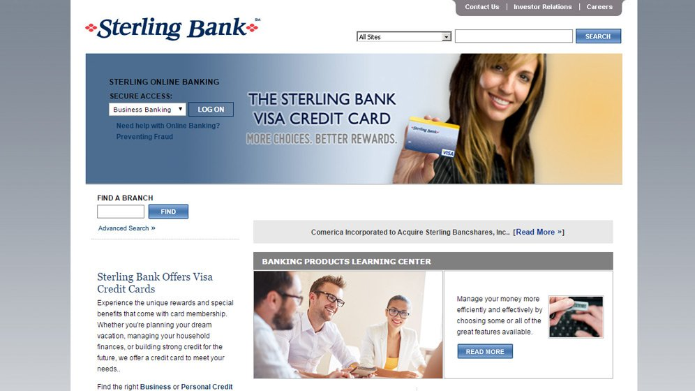 With a new SharePoint-platform website in the works and 75% completed, Sterling Bank hired HexaGroup to perform two roles.