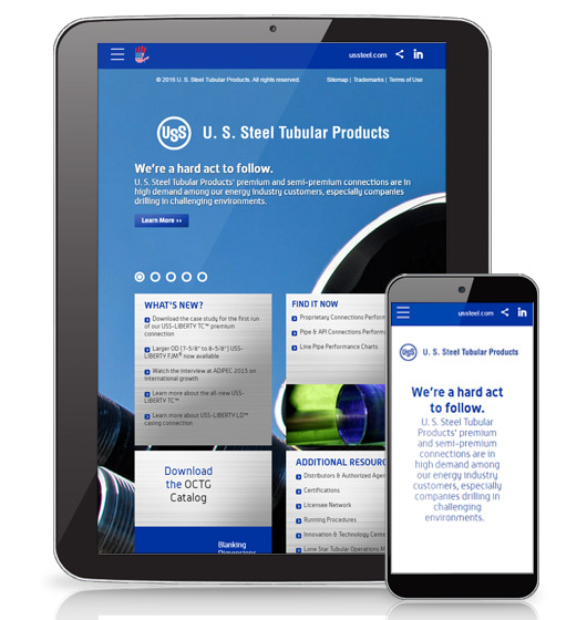 With a dedicated oil and gas microsite, HexaGroup helped U. S. Steel Tubular Products achieve an improved user experience and higher traffic, fewer lost sales opportunities and fewer sales support calls.